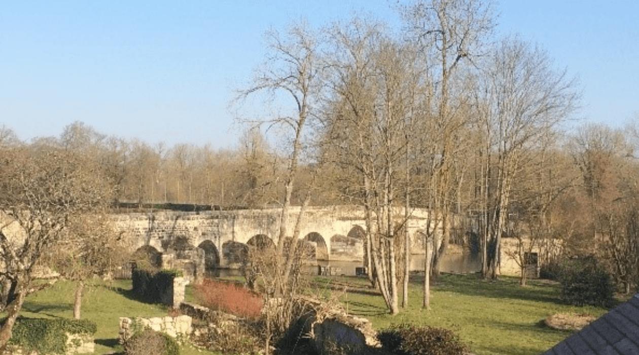 Bords du Loing à Grez-sur-Loing