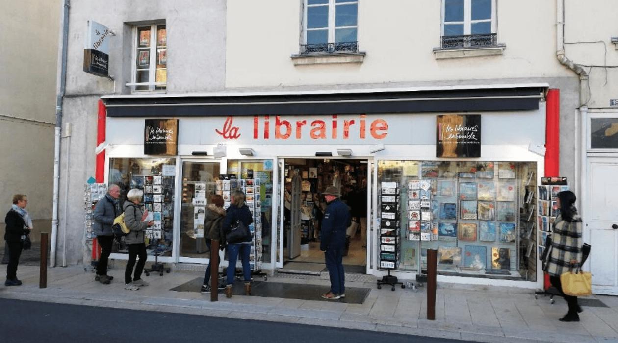 """""""La libraire"""" à Fontainebleau"""