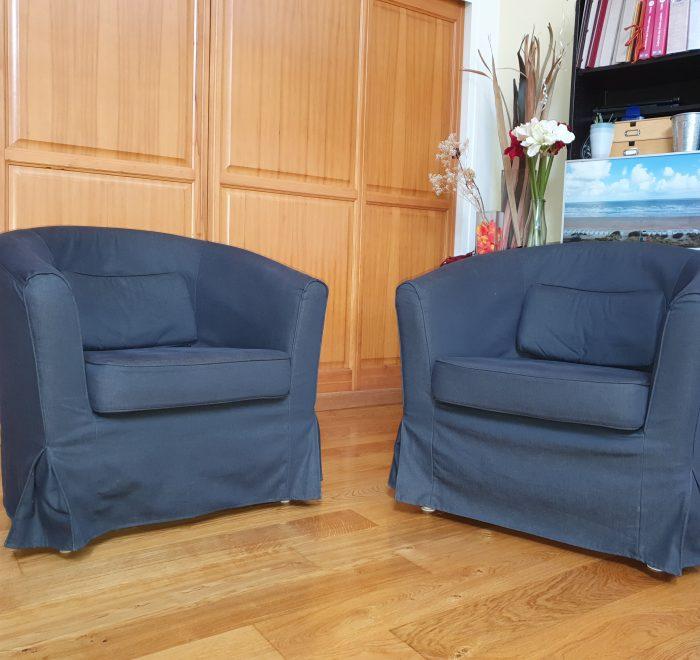 2 fauteuils pour thérapie de couple